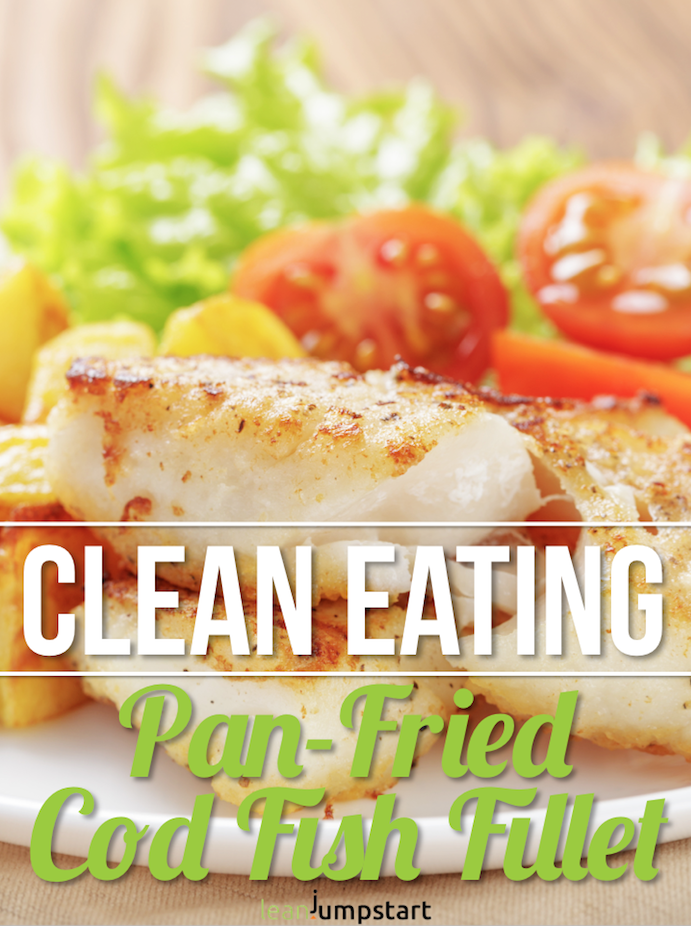 Clean Eating Cod Fish Recipe: A Healthy, Less Expensive Seafood Dish #seafooddishes