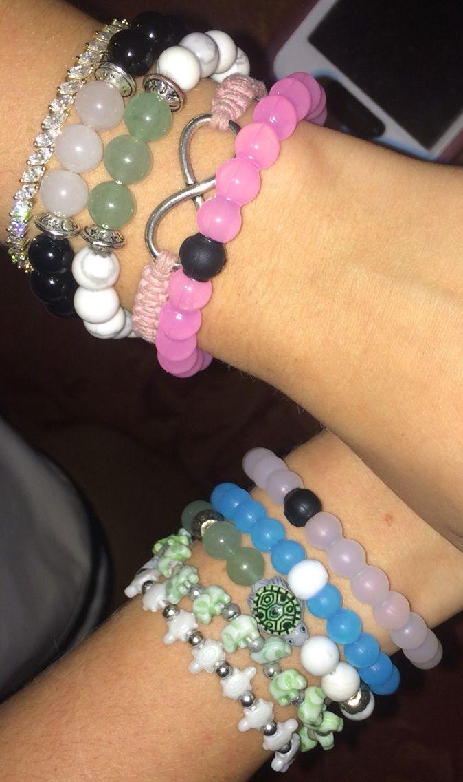 Quantité limitée très loué couleur n brillante 3 lokai bracelets, 3 divinity bracelets, 2 turttlz bracelets ...