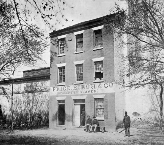 Price, Birch Co, the successor of the Slave trading firm of