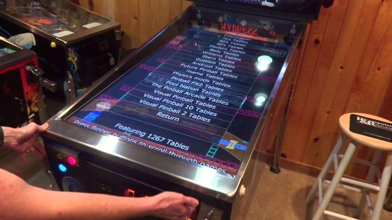 Virtual pinball update 1 1/2 years later   80's Arcade   Pinball