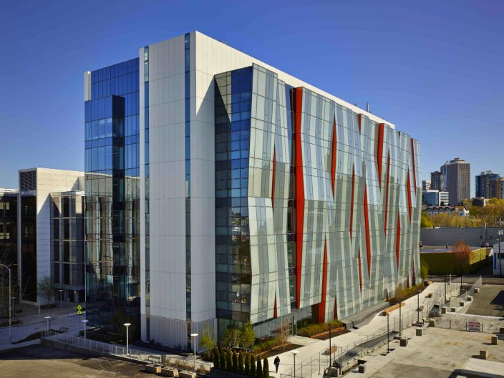 Perkins will completes uw school of medicine with an for Undulating architecture