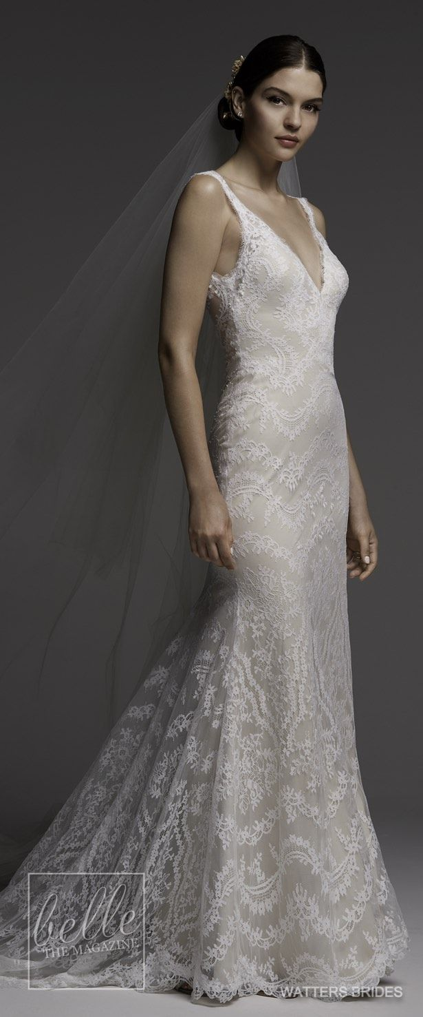 Wedding dresses by watters brides spring bridal collection