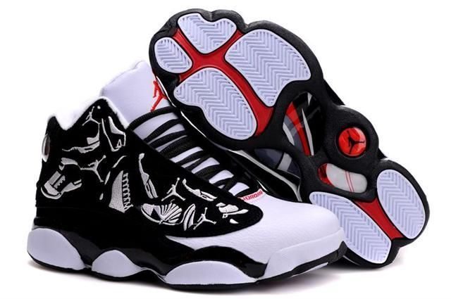 1c2e490e6892 Only 69.45 AIR  JORDAN 13 EMBROIDERY WHITE BLACK TRUE RED  Free  Shipping!