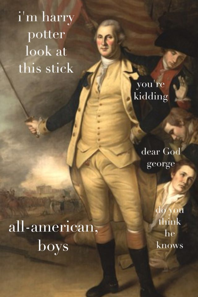 a9de529ab22575b2590acc42c8ba17c1 the adventures of george washington outtake made me snort but