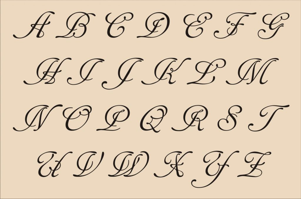 Fancy Cursive Alphabets Fancy Cursive Fonts Now Literary Tattoos