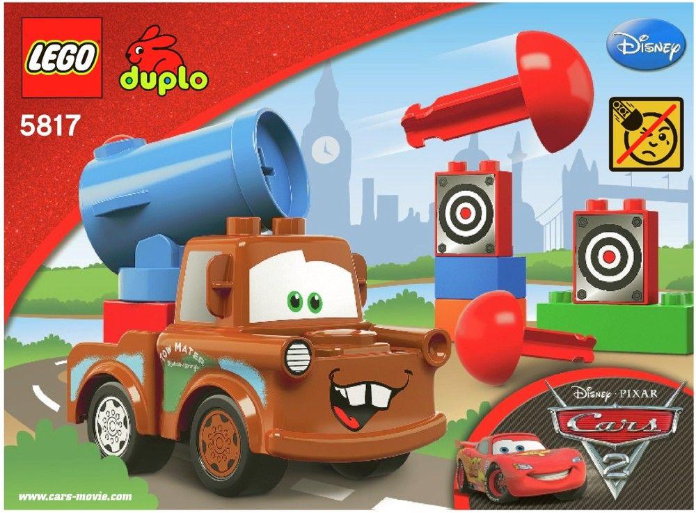Lego Agent Mater Instructions 5817 Duplo Lego Duplo Cars Lego Duplo Lego Cars