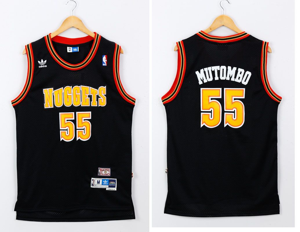 reputable site 41ee4 44ae5 black nuggets jersey