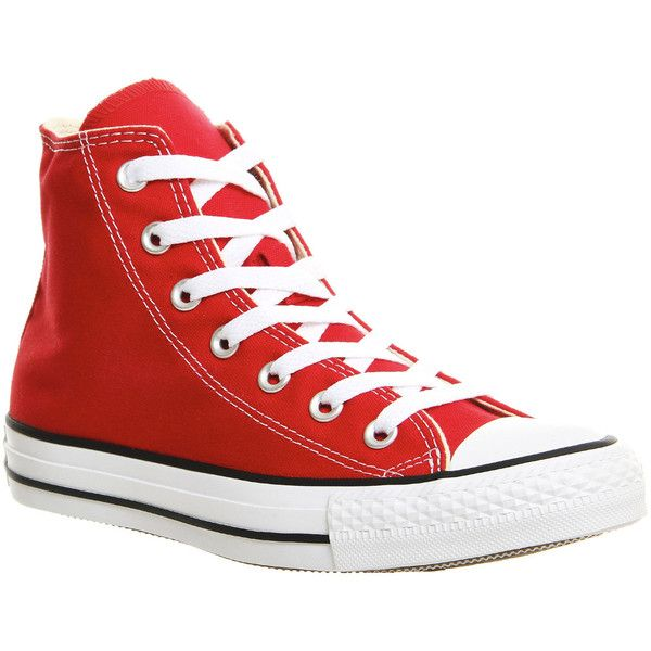 converse all star hi canvas rosse