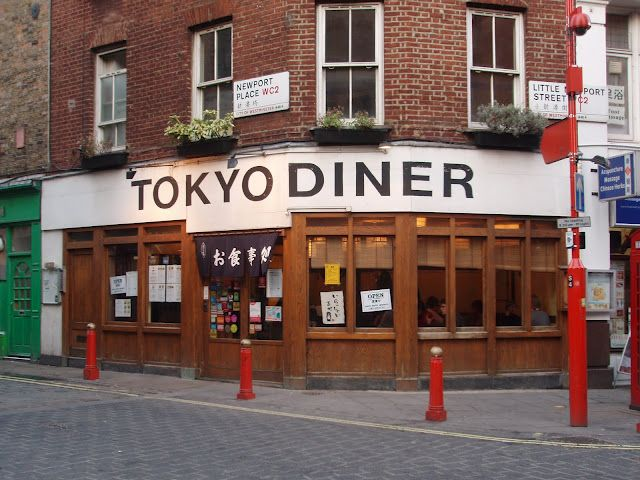 Tokyo Diner (London, UK). I don't know much about Japanese