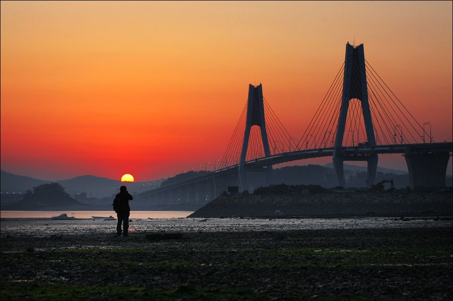 Yeonghong bridge in Korea, @Woosra