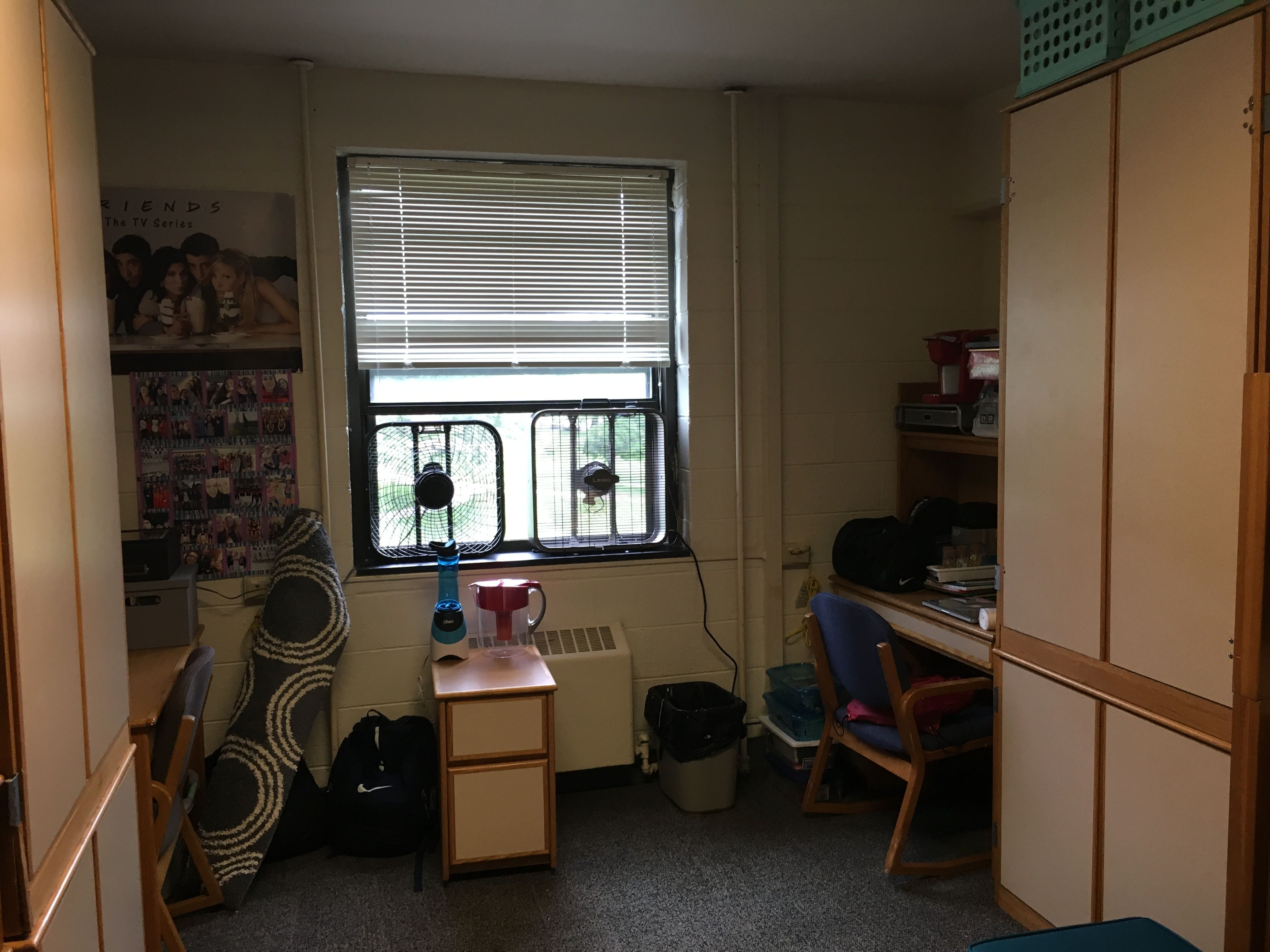 Iu Wright Dorm Must Have Box Fans No Ac Metal High