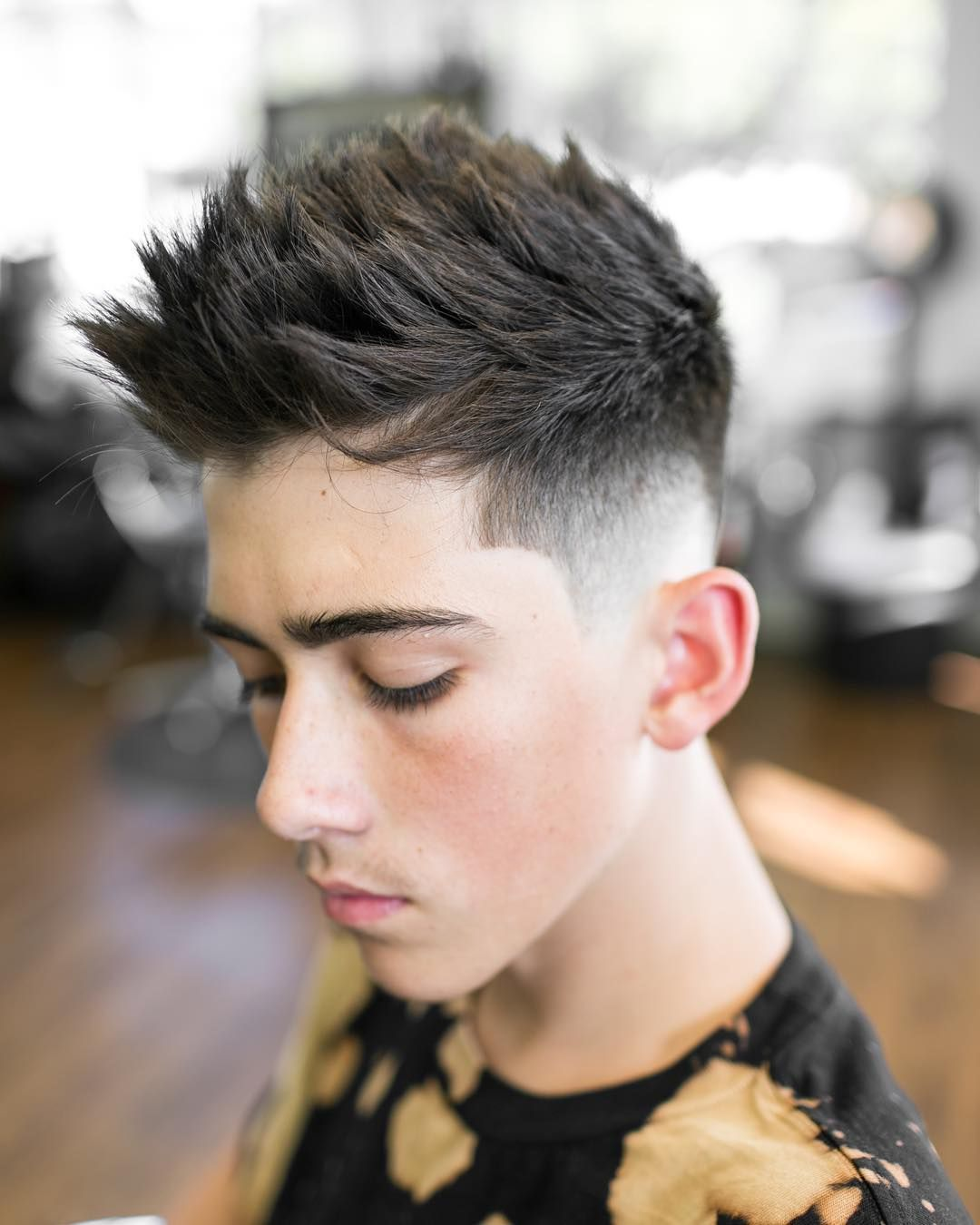 Pretty mohawk with side low fade best fade haircuts trendy pinterest