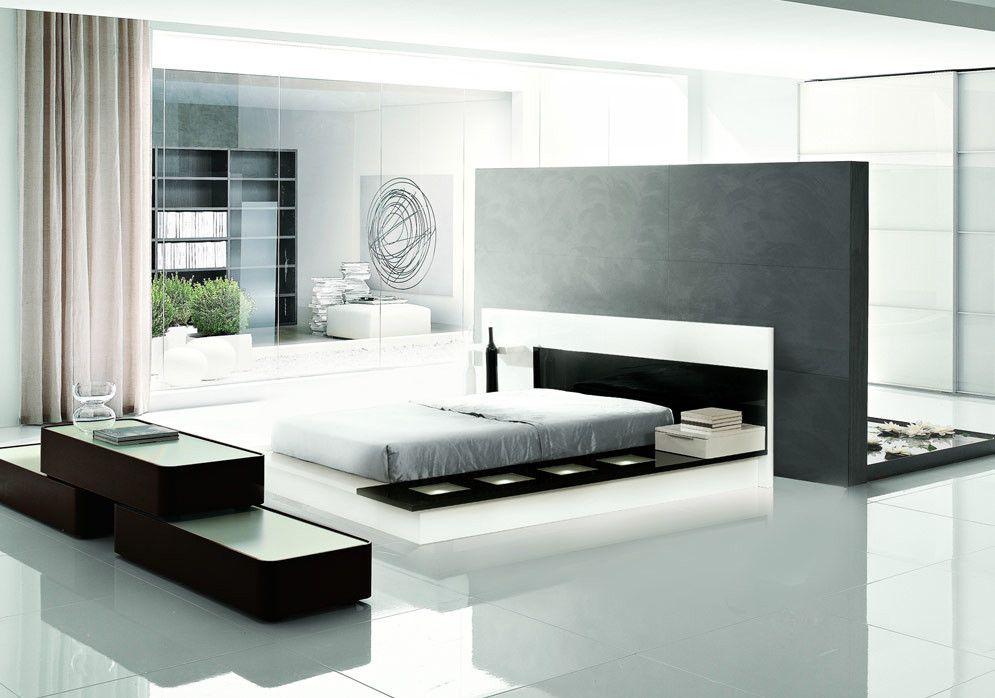 Impera Modern Contemporary Lacquer Platform Bed Platform Bedroom Sets Contemporary Bedroom Modern Contemporary Bedroom Furniture