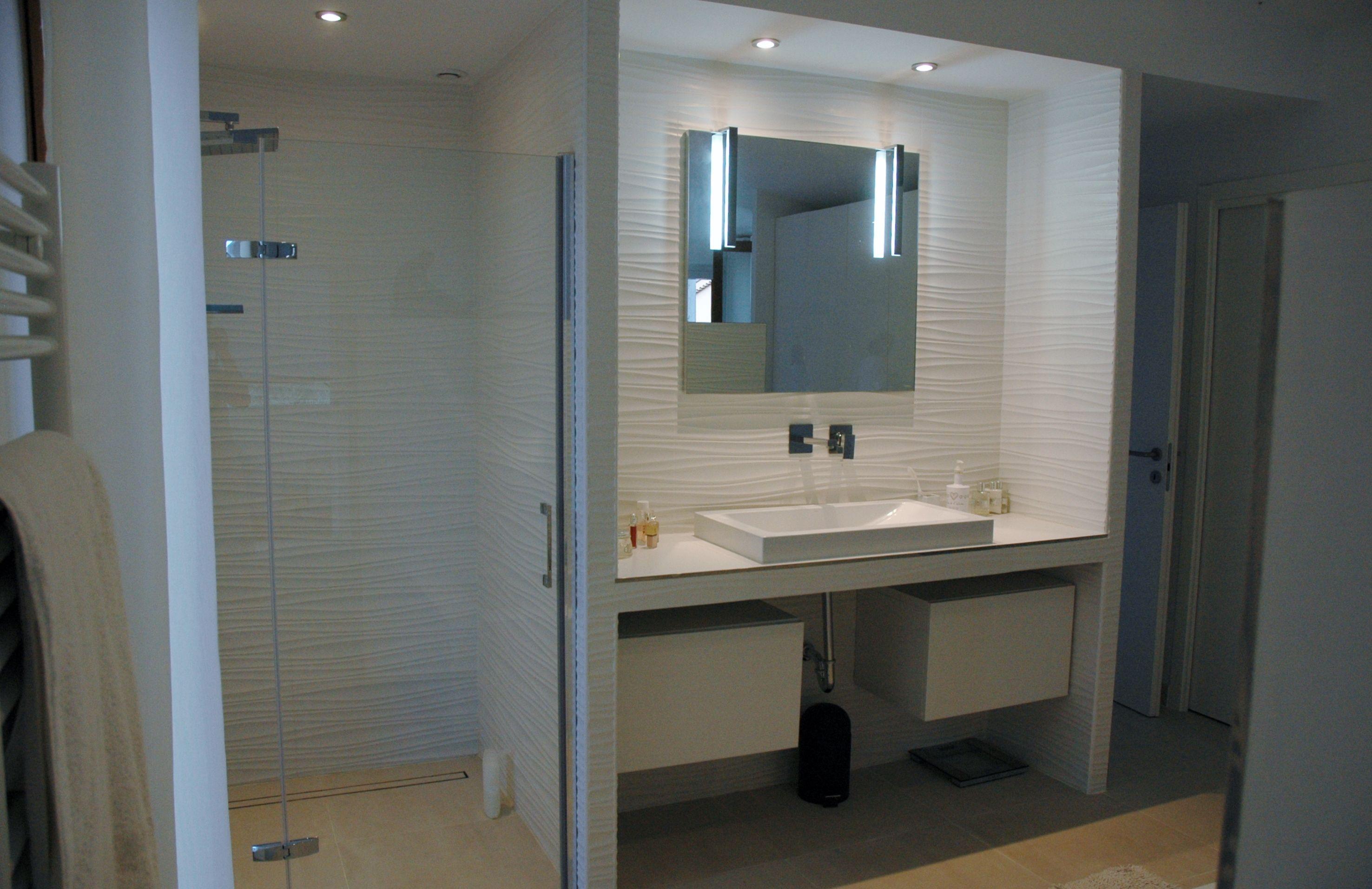 Id Deco - Master bathroom in suite - Mougins(fr)