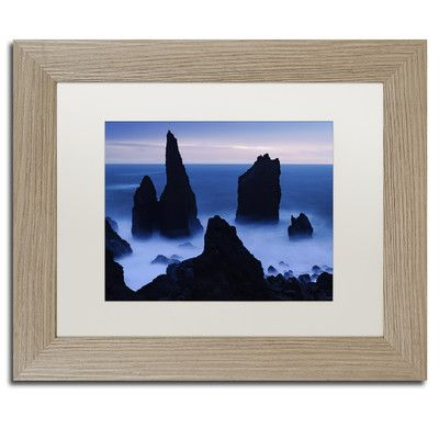 Trademark Art 'The Test of Time' by Michael Blanchette Framed Photographic Print Size: 1