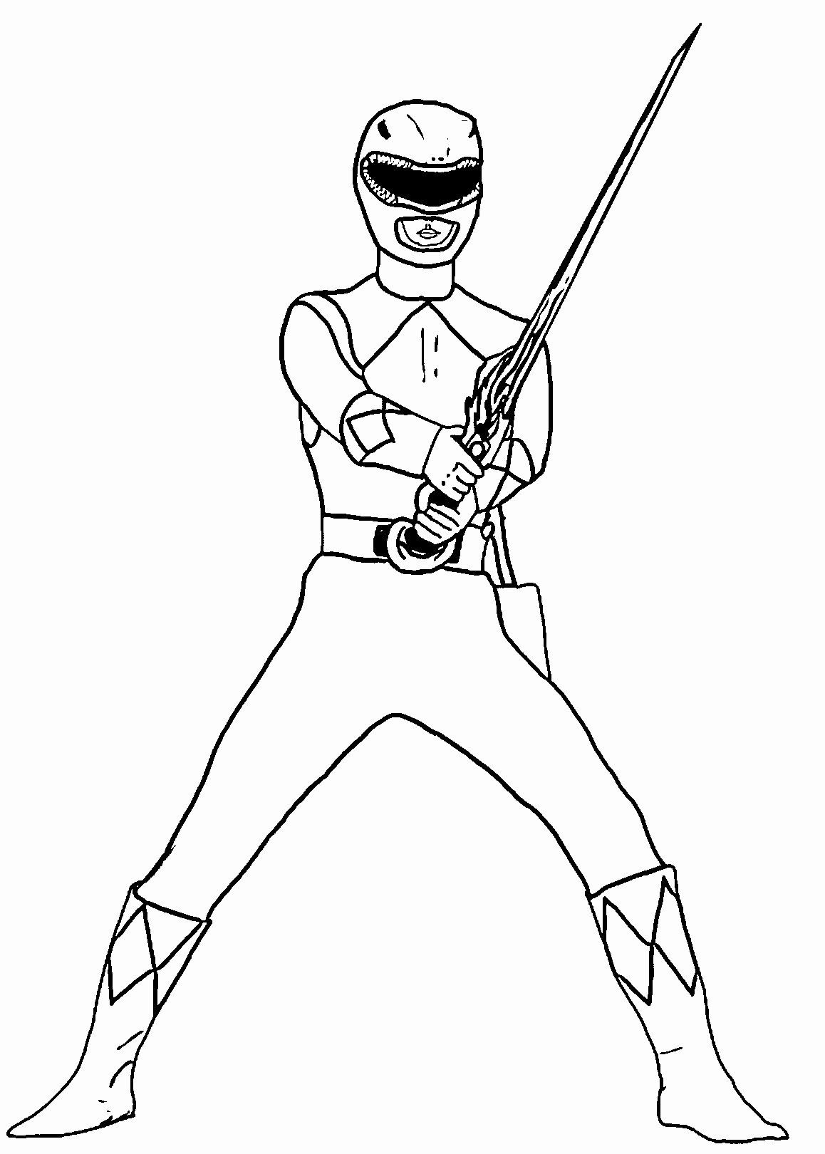 Power Ranger Coloring Book Luxury Coloring Pages Stunning