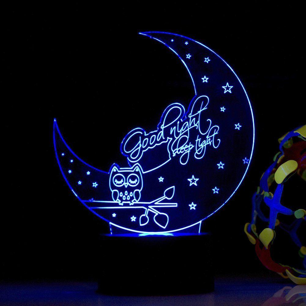 83b414201f46 Amazon.com: Good Night Sleep Tight LED Night lamp, Modern Decorative USB  Lamp: #Home & #Kitchen Good Night Sleep Tight LED Night Lamp  #DecorativeLamp ...