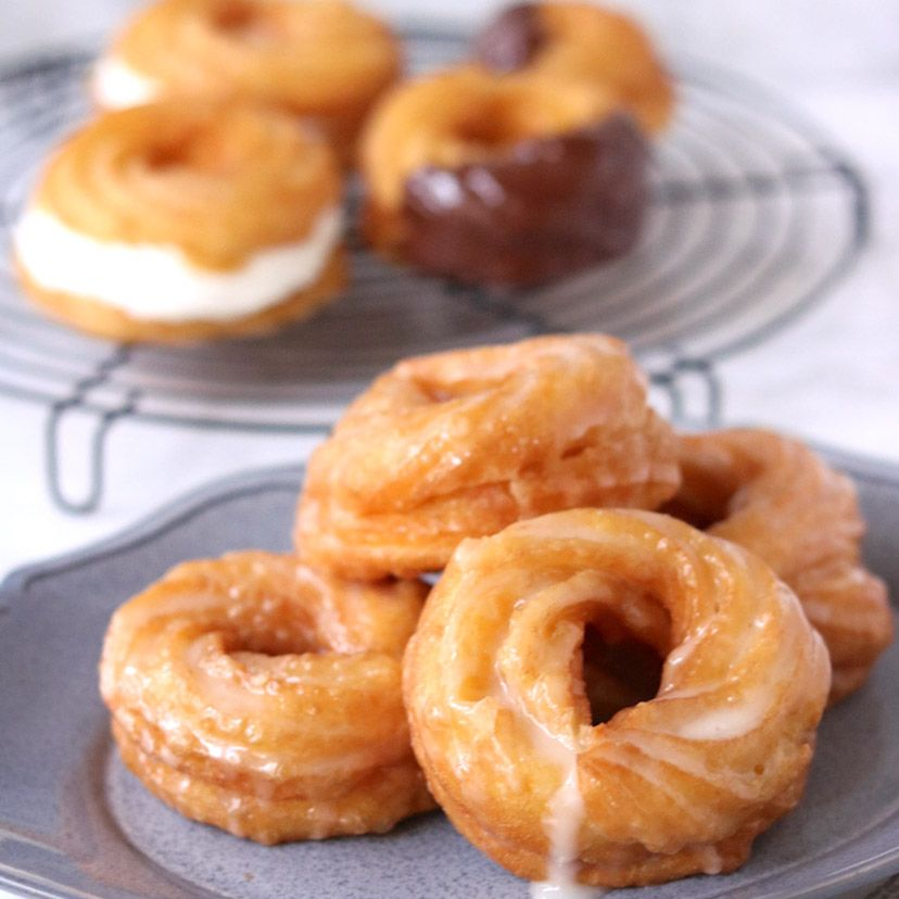 まるでお店みたい フレンチクルーラーのレシピ 2020 レシピ ドーナツ レシピ 食べ物のアイデア