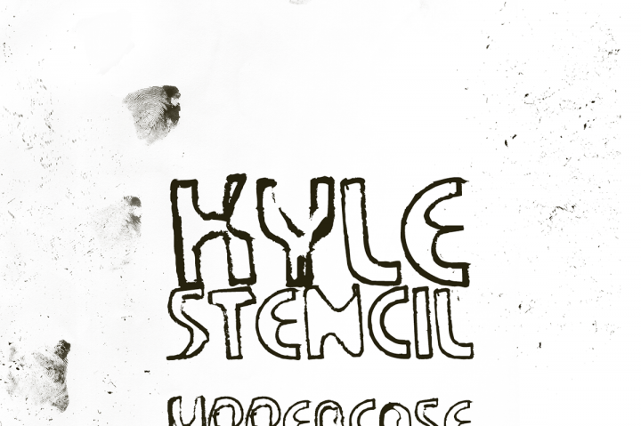 This Is The FREE Kyle Stencil Font Which A Very Artsy That Would Be Well Suited To Variety Of Different Designs Especially Anything