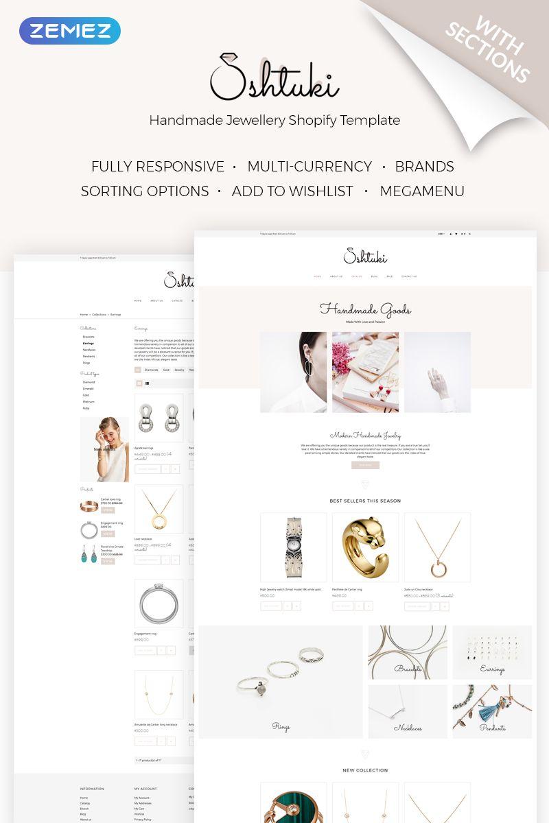 Shtuki - Handmade Goods Shopify Theme #71841 | Logos Font