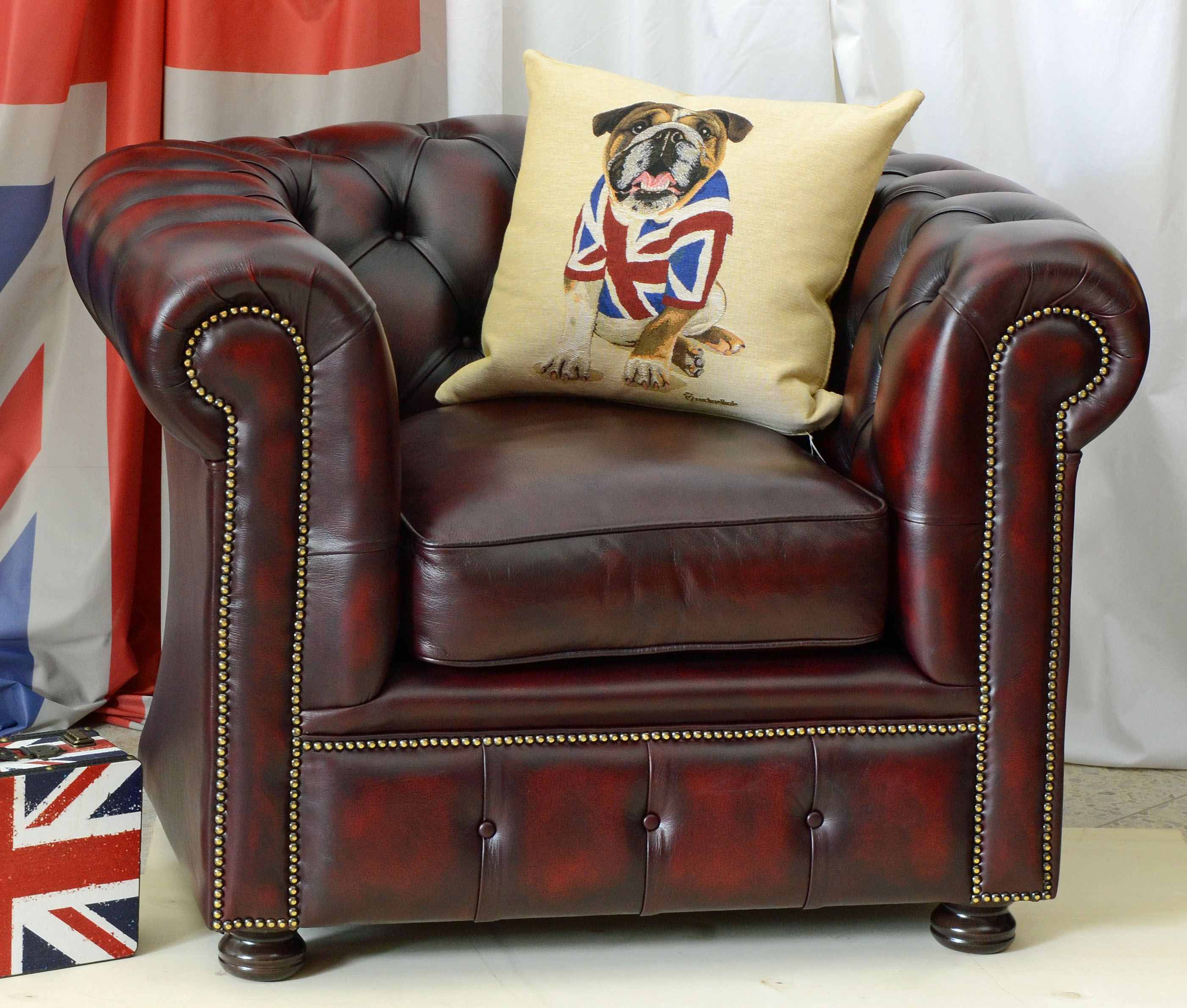Chesterfield Sessel Rot Made In England Chesterfield Chair Chesterfields In Krefeld