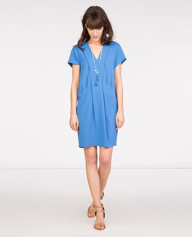 Robe Manches Courtes Robes Comptoir Des Cotonniers Printemps
