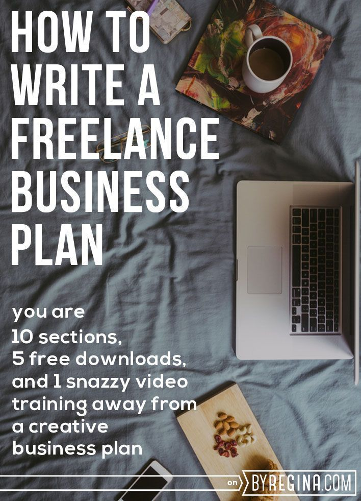 How to Write a Freelance Business Plan--Plus a Business Plan - startup business plan template
