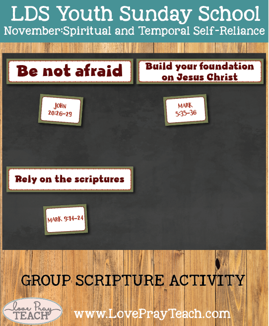 Youth Sunday School November: How can I overcome doubt with