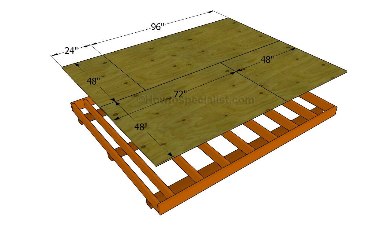 Firewood storage shed plans howtospecialist how to