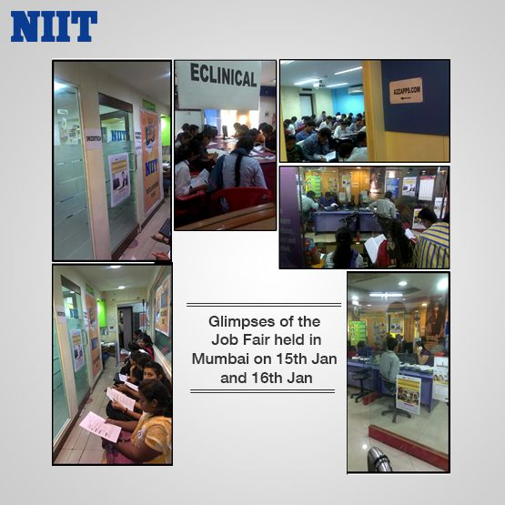 Job Fair Held At Niit Mulund And Niit Churchgate With A Phenomenal Turnout 127 Shortlisted Students 9 Spot Offer Job Fair Hold On Job