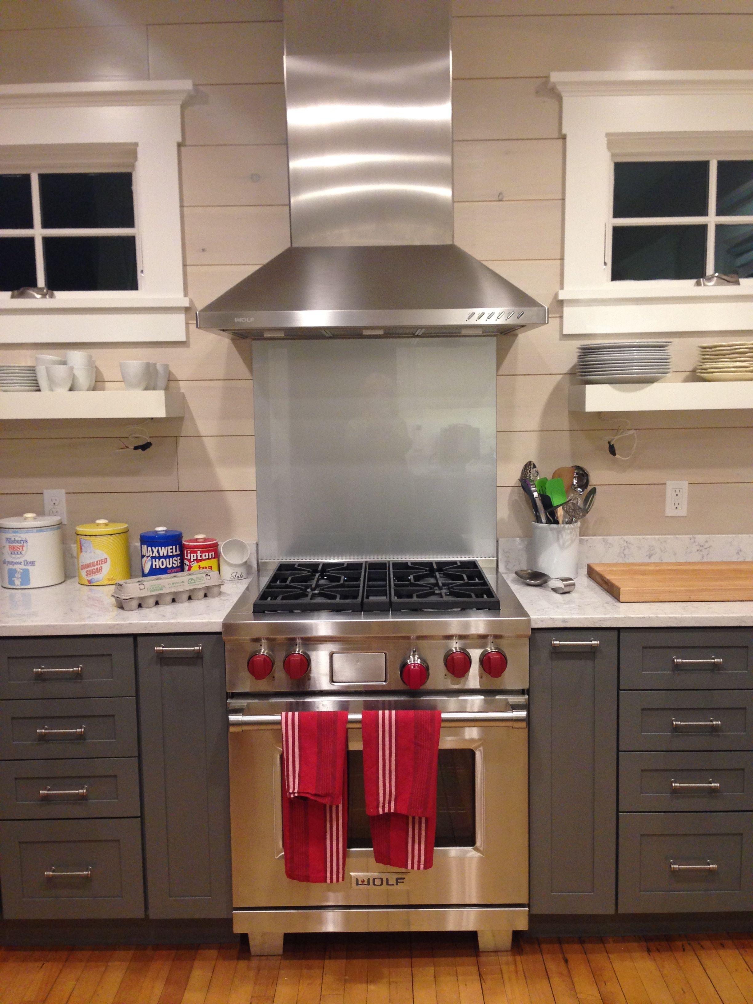 here s the new kitchen stove fan and backsplash sea cove