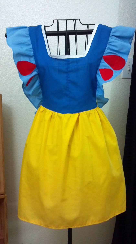 White apron etsy - Disney Snow White Inspired Vintage Style Full Woman S Apron Made To Order 50 00