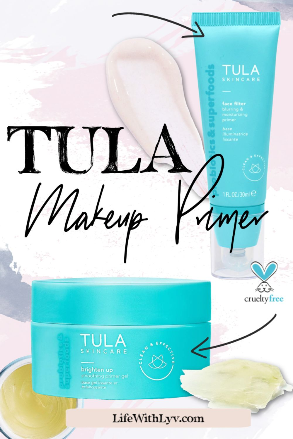 My TULA Makeup Primer Life With Lyv in 2020 Face