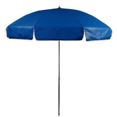 Frankford Umbrellas 7.5 ft. Diameter Steel Commercial Grade Vinyl Patio Umbrella Fabric: