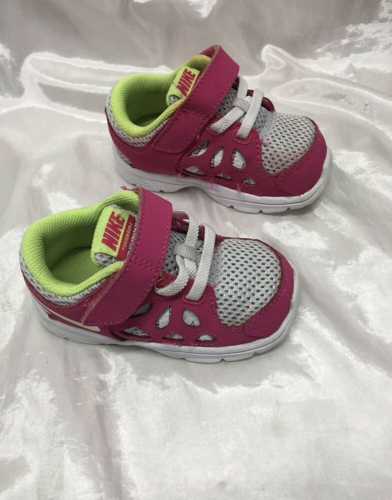 f52762acdd8c NIKE Fusion Run 2 Pink Athletic Sneakers Toddler Girls Shoe Size 5c  fashion   clothing  shoes  accessories  babytoddlerclothing  babyshoes (ebay link)
