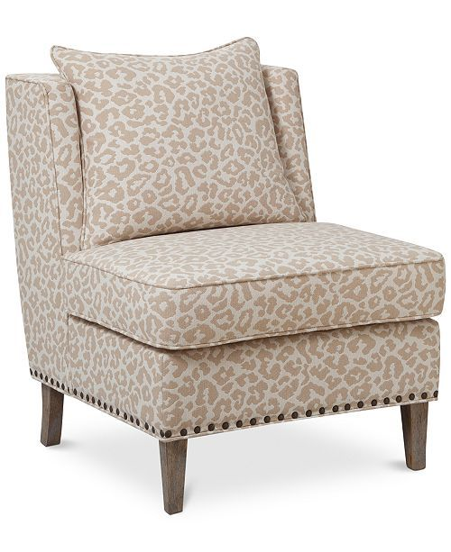 Jla Sarah Printed Fabric Accent Chair: Furniture Camile Fabric Accent Chair & Reviews