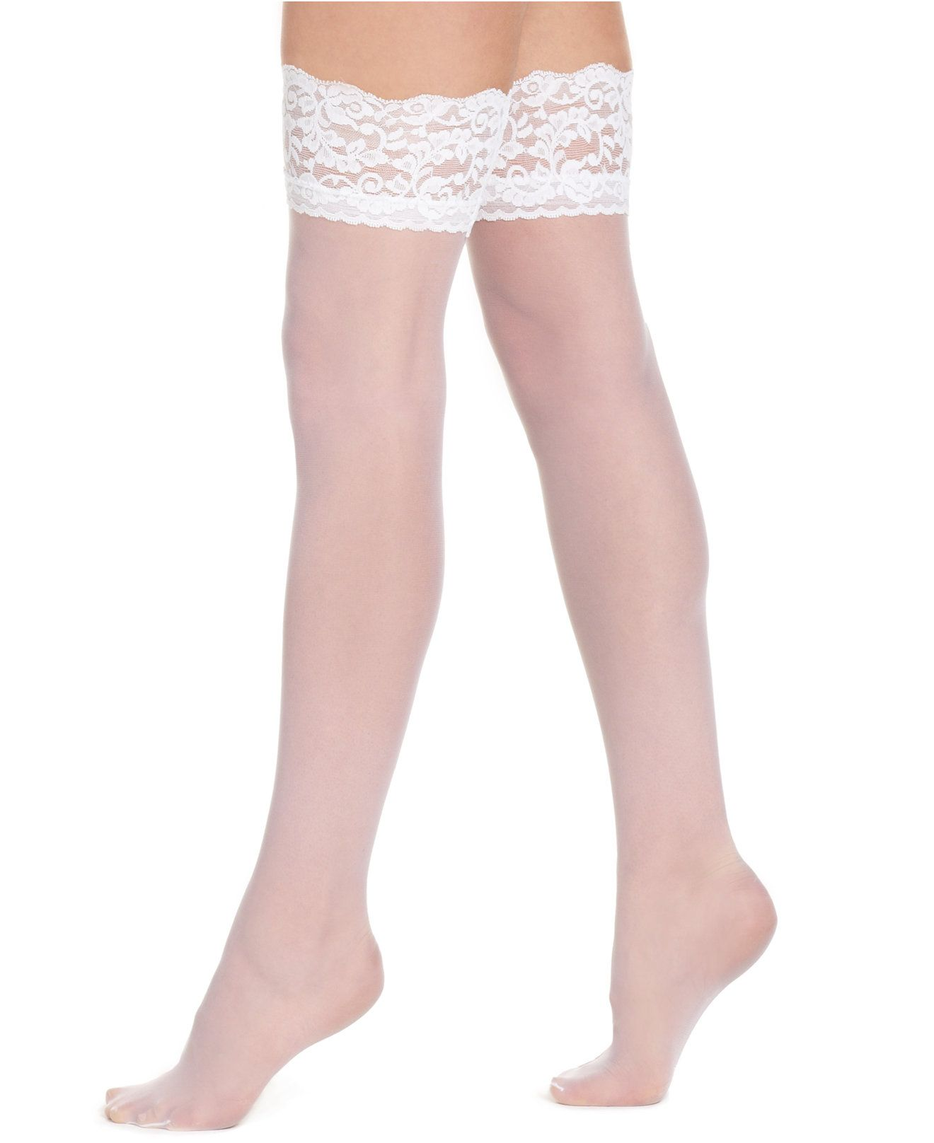 Women\'s French Lace Top Thigh High Hosiery 1363 | Pinterest | Medias