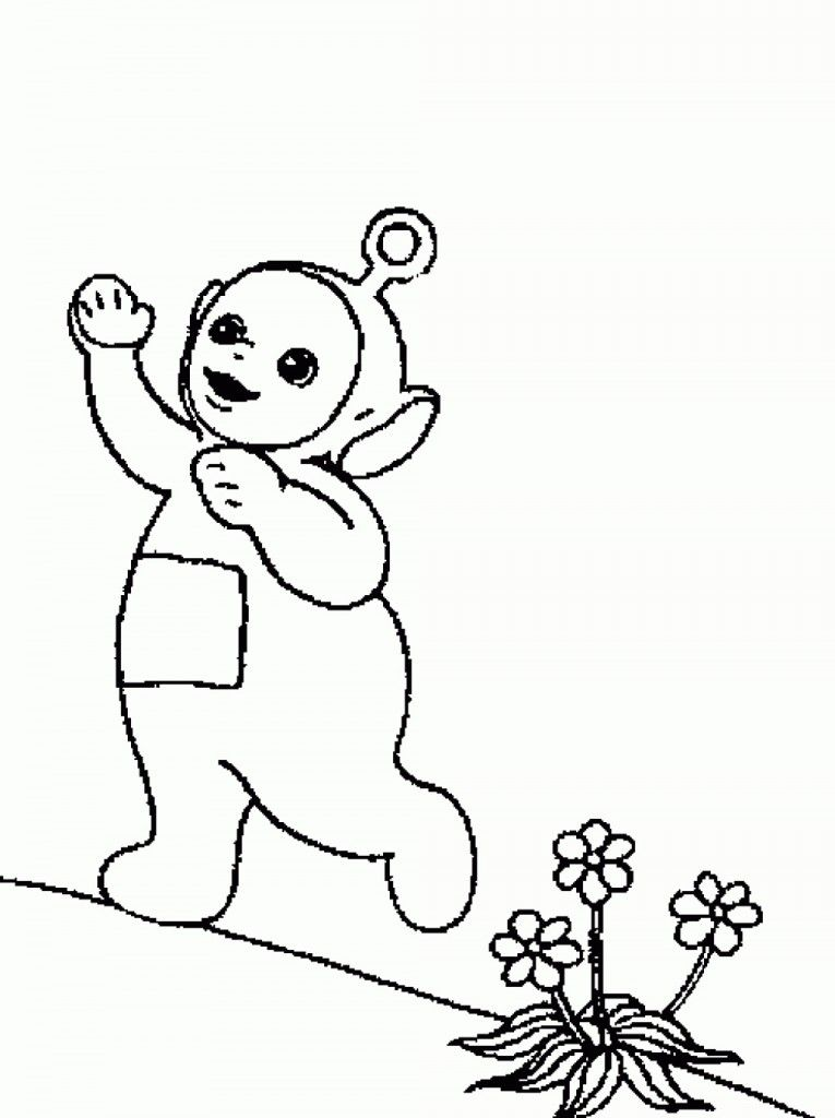 Free Printable Teletubbies Coloring Pages For Kids | Movies and TV ...