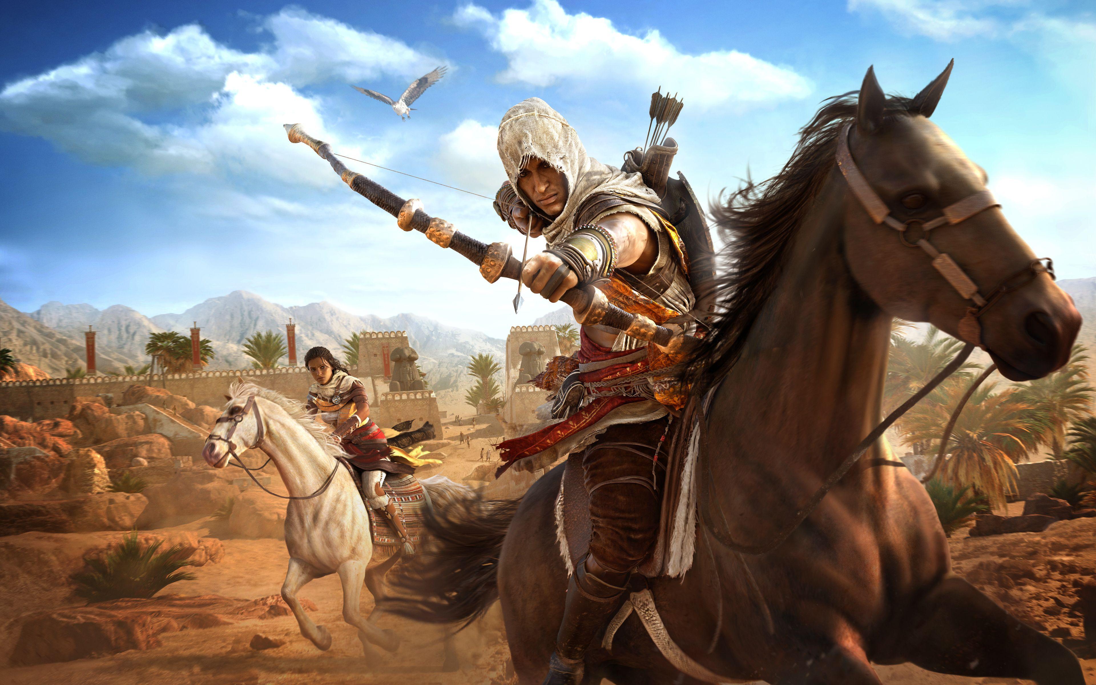 Assassins Creed Origins 4k 8k Game Wide Jpg 3840 2400 Assassin Assassins Creed Fond Ecran