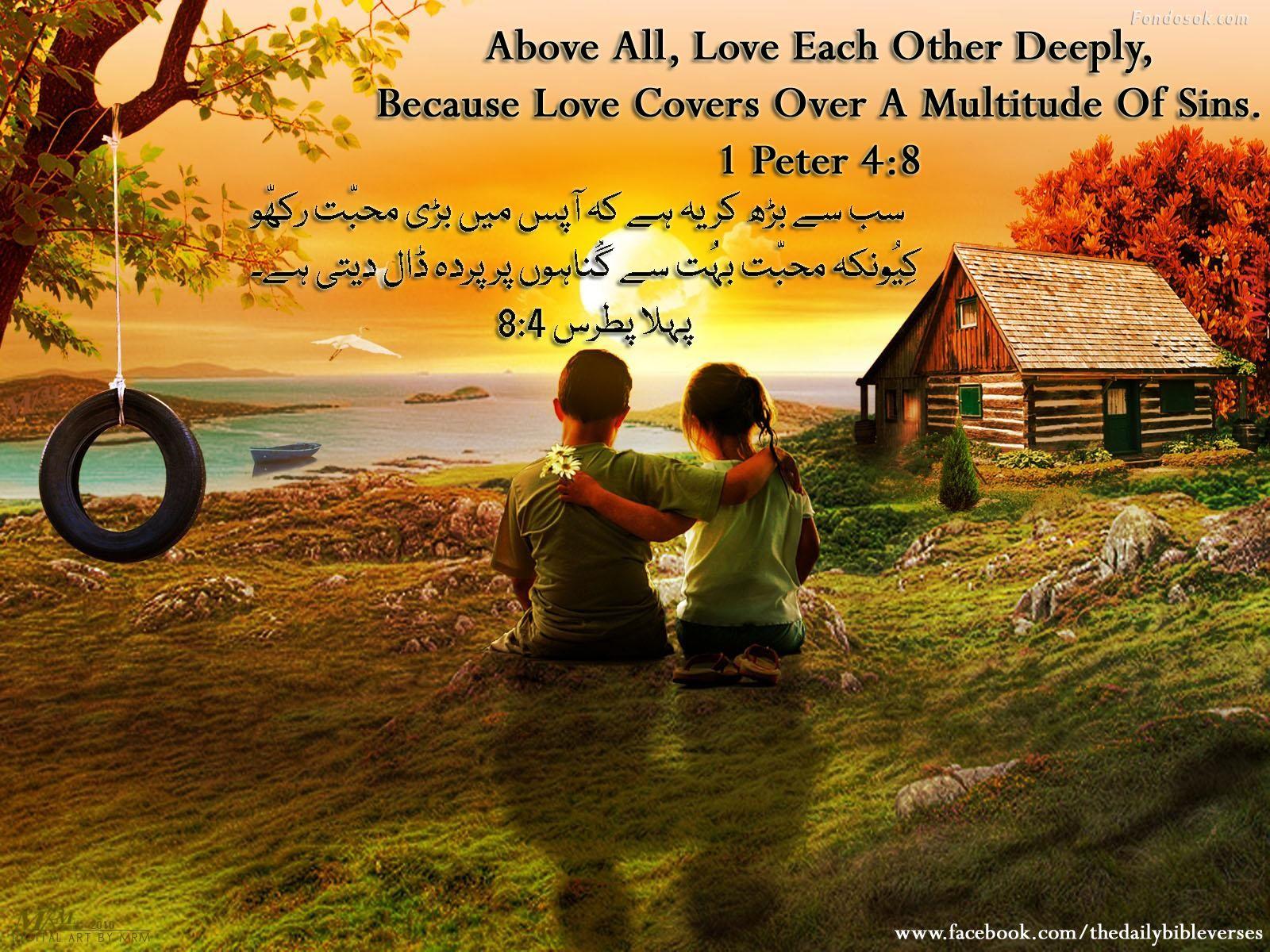 1 Peter 4:8 | love | Pinterest