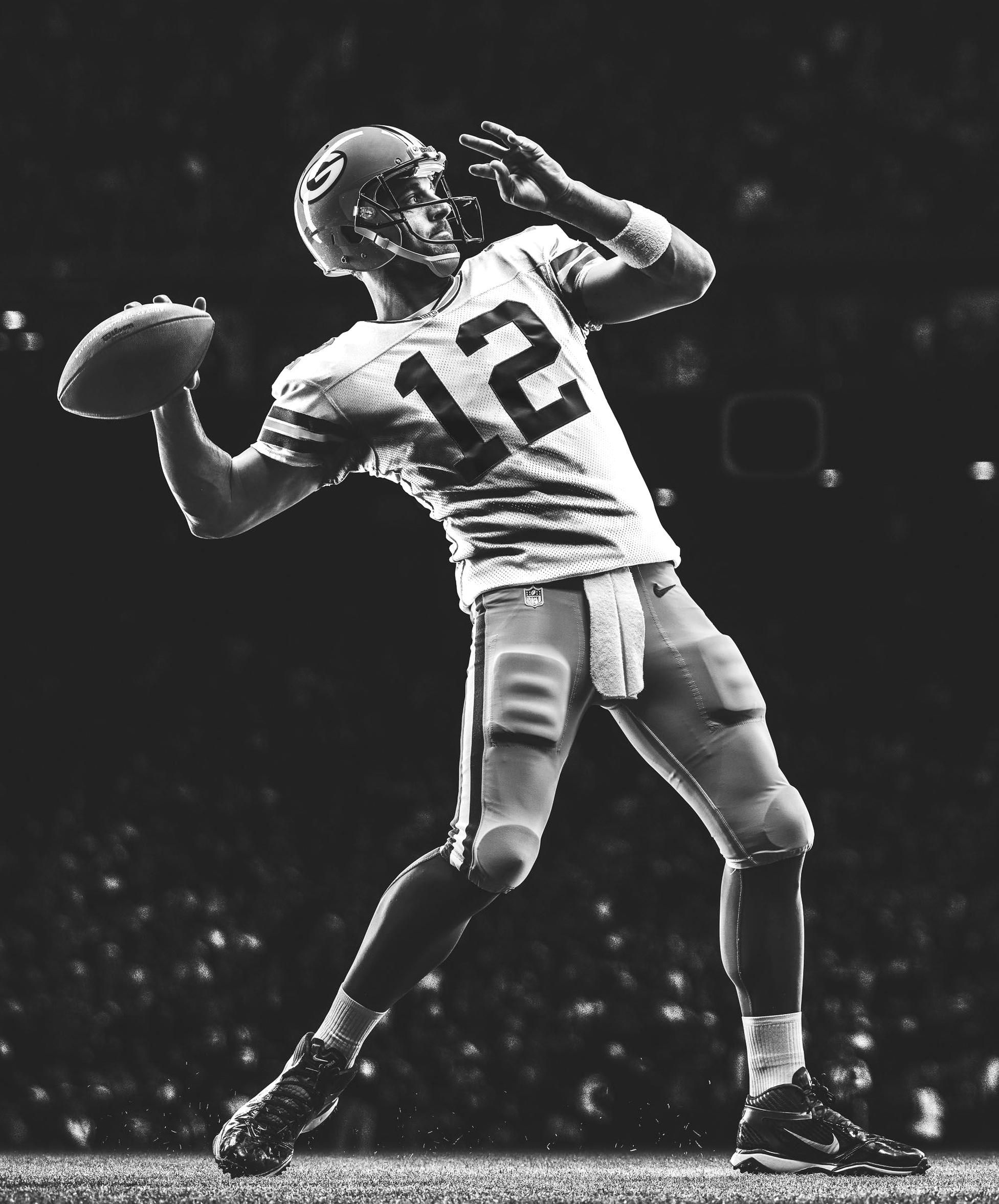 Aaron Rodgers In 2020 Football Photography Nike Football Football