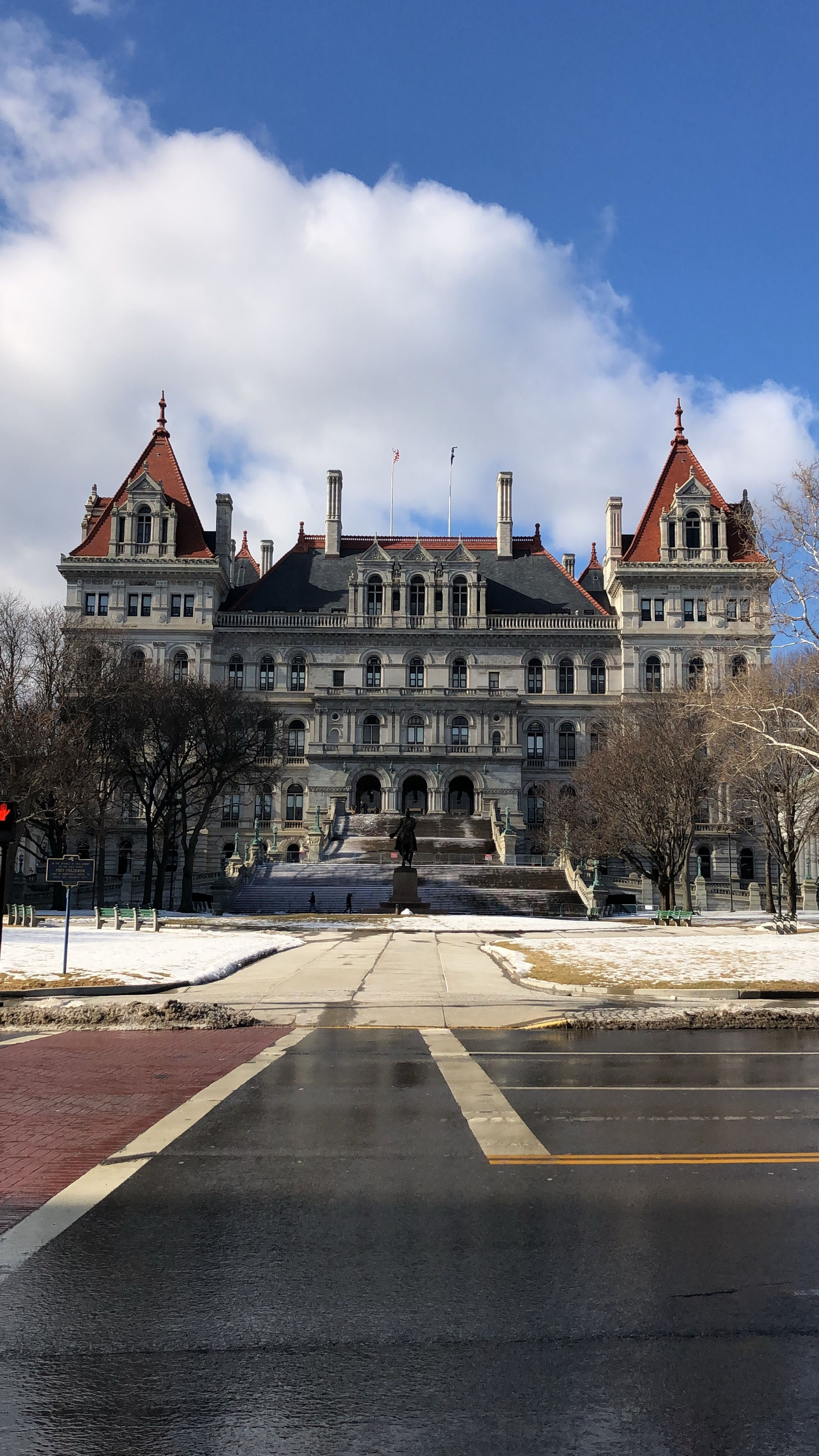 Visit The New York State Capitol Building In Albany, New