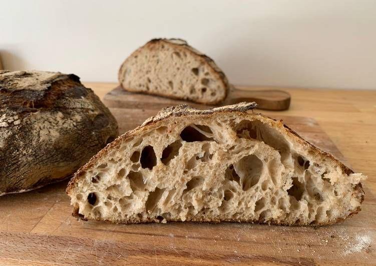 Resep French Countryside Sourdough Rustic Bread Roti Tawar Dengan Ragi Alami Oleh Natureahead Resep Di 2020 Resep Roti Resep Makanan