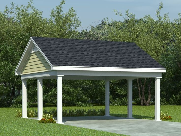 home depot carport ideas | ... styles and plans a double carport ...