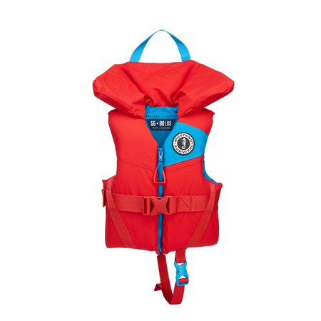 Mustang MIT 100 Inflatable Manual PFD Black//Red