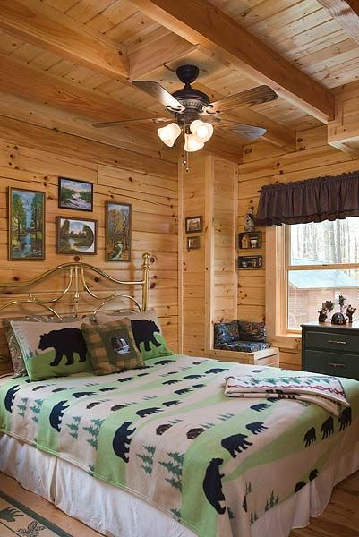 8x8 Bedroom Design: Oakbrook Plan 8x8 D Log Home