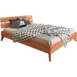 Photo of Double bed Timaru 02 solid beech oiled – lying area: 160 x 200 cm (W x L) Easymoebel-shop.de