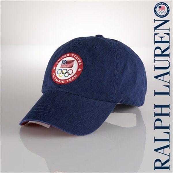 182d87dec14cb Ralph Lauren USA London 2012 Classic Sport Adjustable Hat - Navy ...