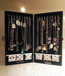 Portable Vendor Jewelry Display Cases Travel Showcases For