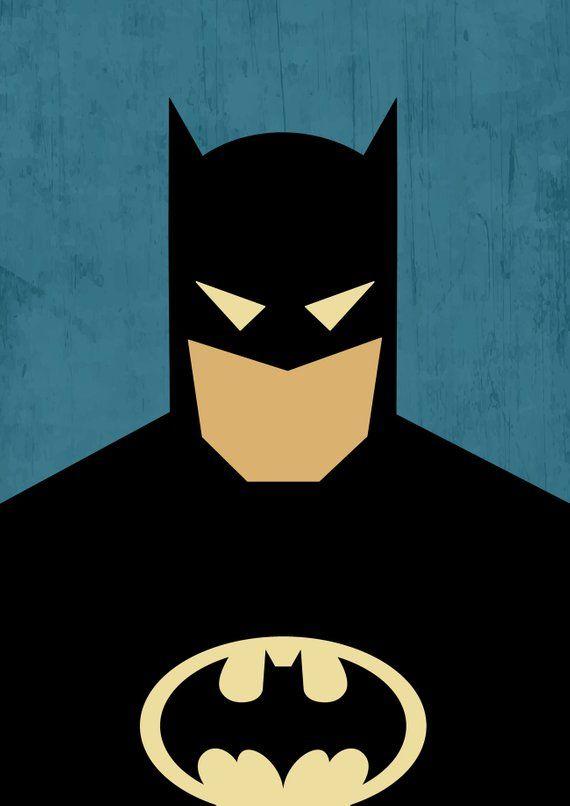 Poster Superhero / Poster Superman / Poster Batman / Poster Wonder Woman / Superman Print / Batman Print / Wonder Woman Print / Batman Gift